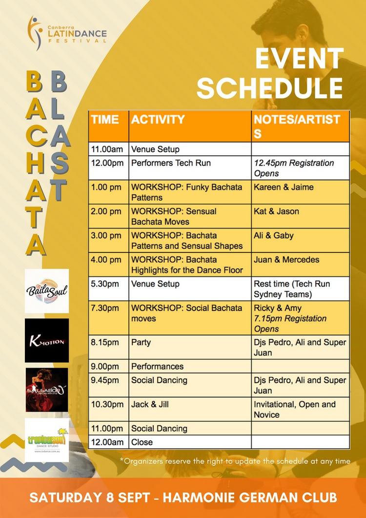 Bachata Workshops