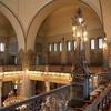 General view of the balcony, Shaar Hashamayim (Adly St) Synagogue, Cairo, Egypt. Joshua Shamsi, 2017.