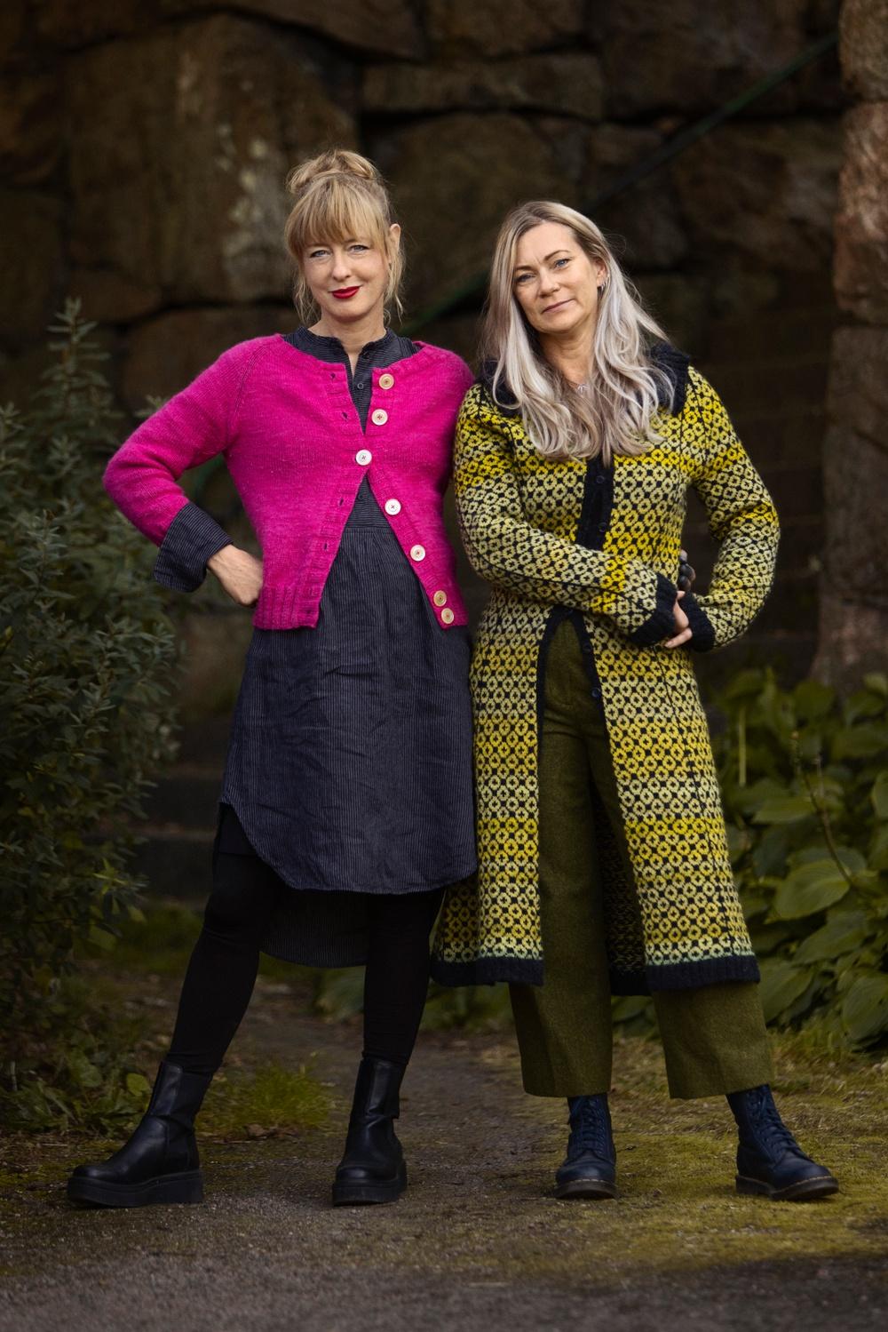 Författarbild: Anna Bauer och Eva Zethraeus  Foto: Francis Lövenholm
