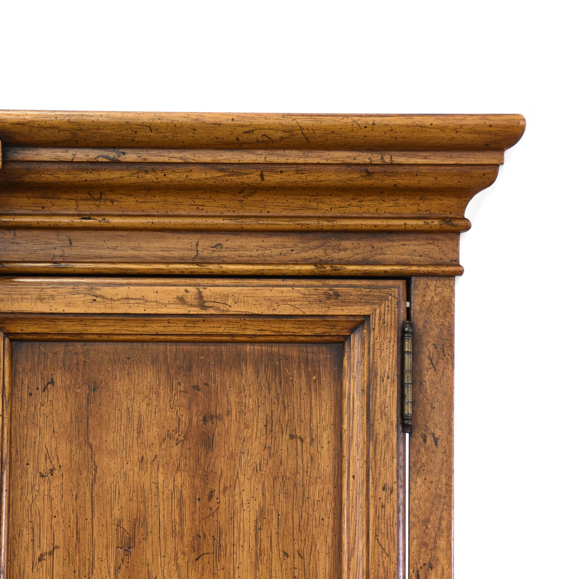 """Henredon"" Spanish Revival Armoire Wardrobe | Loveseat ..."