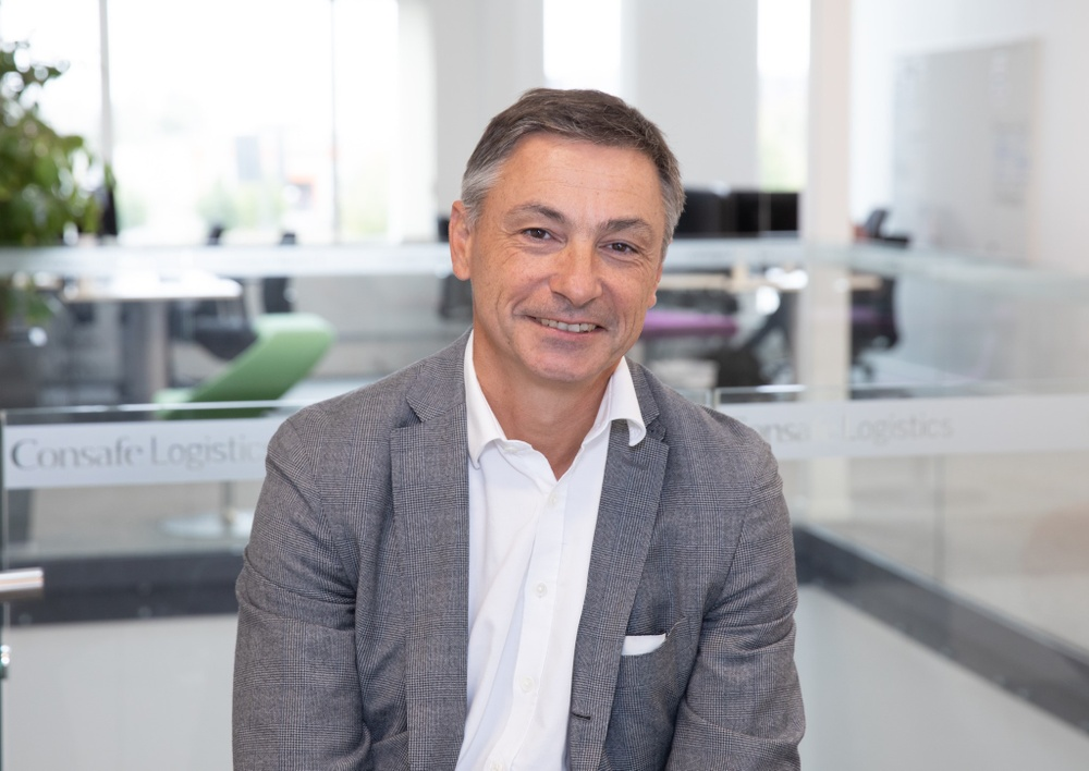 Remy Malchirand, Managing Director for Consafe Logistics Central Europe