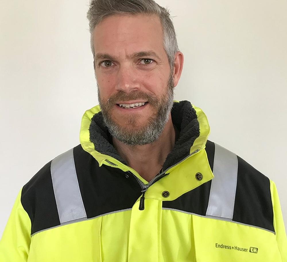 Ulf Johansson är branschansvarig för papper och massa hos Endress+Hauser. Foto: Endress+Hauser