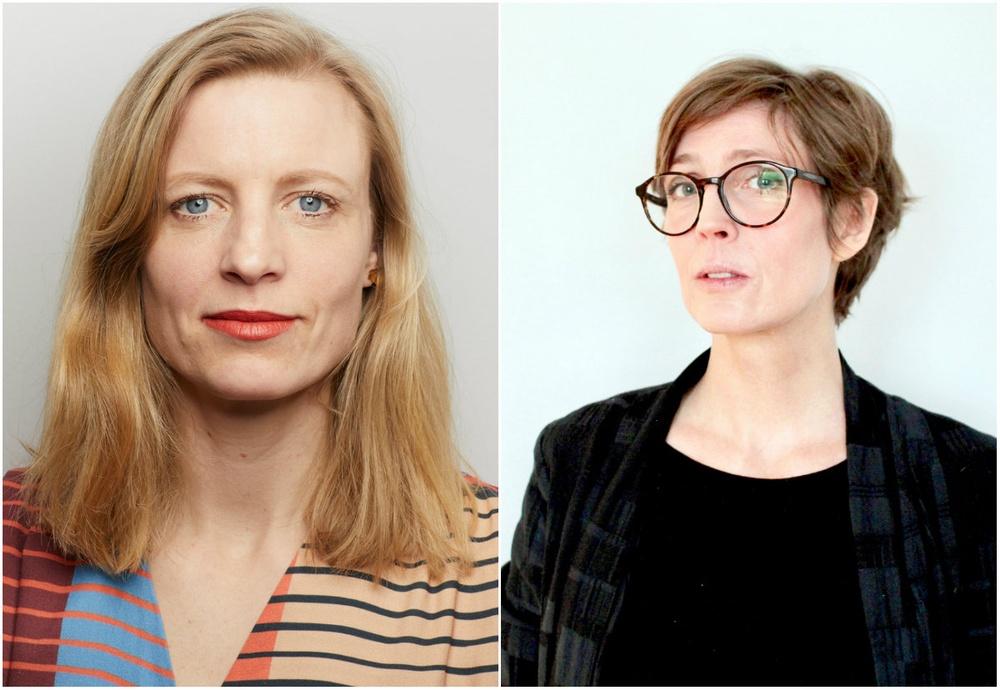 Förbundsdirektör Sofia Jerneck och Ordförande Josefine Engström. Foto: Adrian Ulander och Jenny Gustafsson