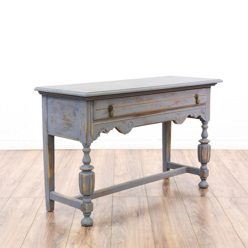 Shabby Chic 1930 39 S Spanish Revival Console Table Loveseat Vintage Furniture San Diego Los