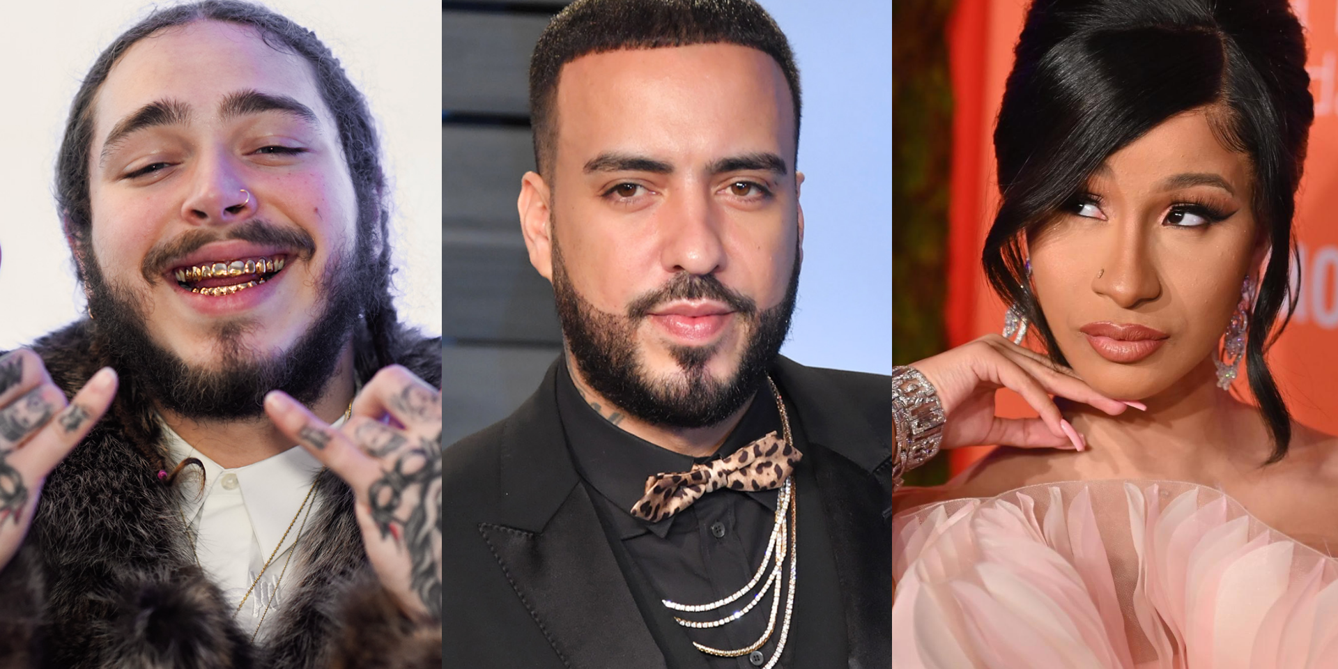 Cardi B and Post Malone join French Montana on an epic new single 'Writing on the Wall'