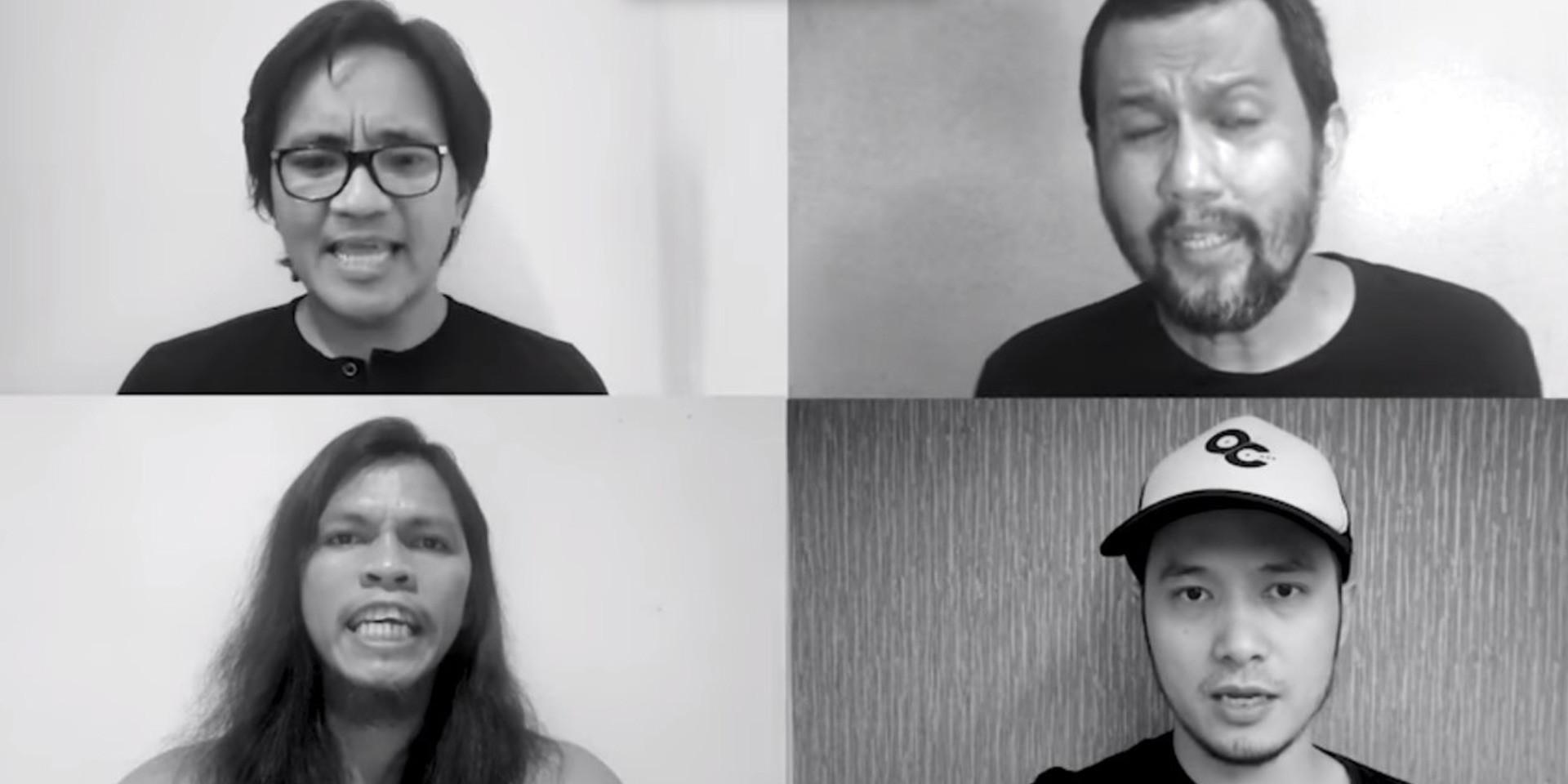 Ebe Dancel, Bullet Dumas, Johnoy Danao, and more share new rendition of 'Di Niyo Ba Naririnig?' – watch