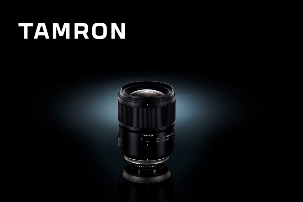 Tamron launches ultrasharp 35mm f/1.4 lens