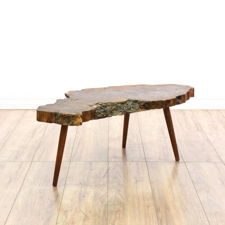 Long Mid Century Modern Coffee Table