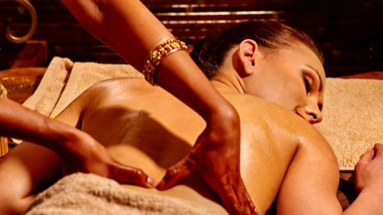 Représentation de la formation : Massage ABHYANGA