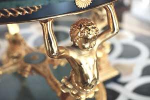 Detail: Golden angel