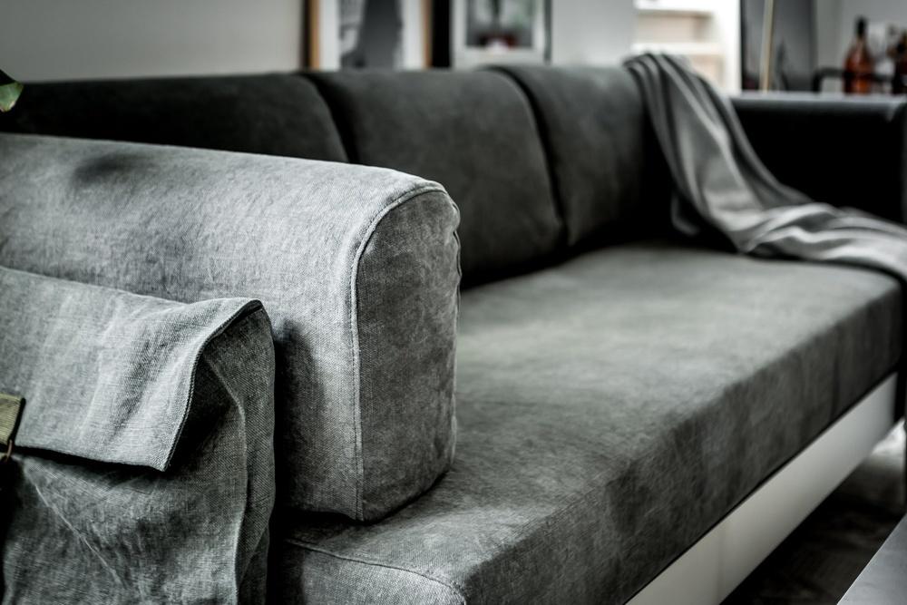 Bemz x Tom Dixon cover for IKEA Delaktig. Fabric: Natural Khaki Green.  Photo & styling: Henrik Nero.