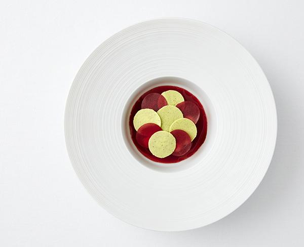 Raspberry and basil