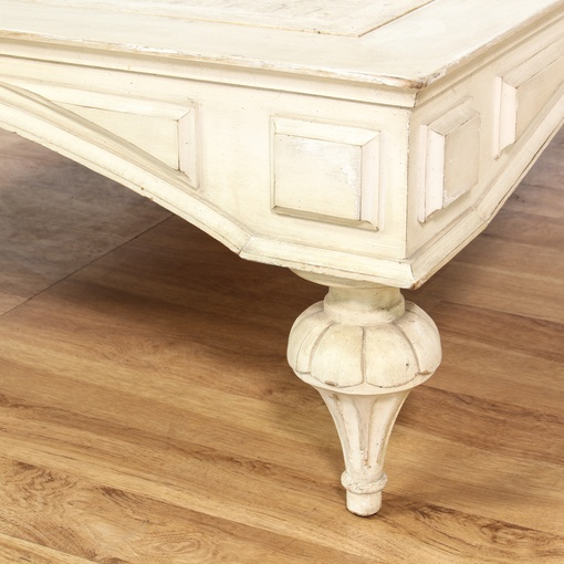 Solid Travertine Coffee Table: Travertine Insert Rectangular Coffee Table