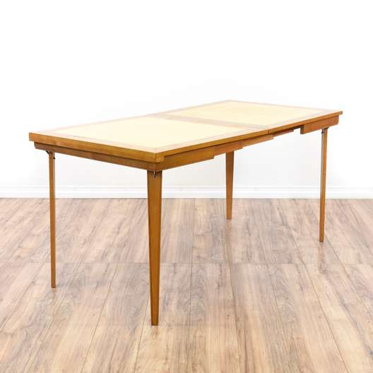 Retro Style Folding Expanding Game Table