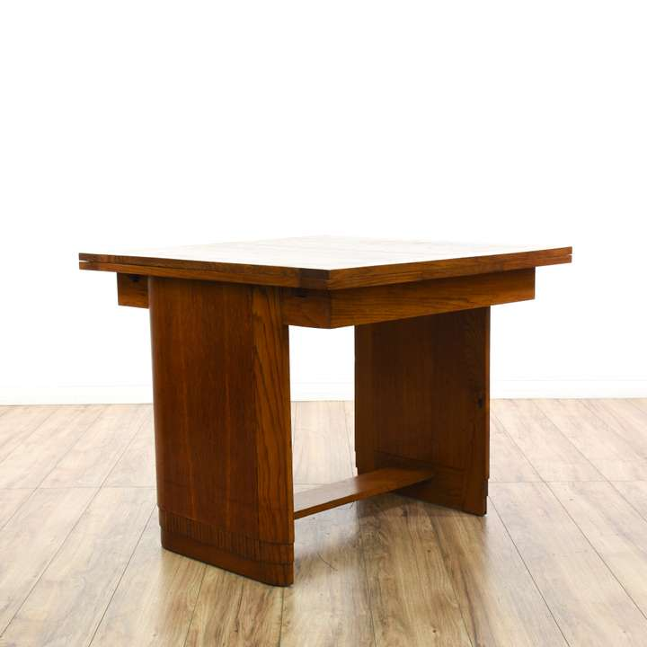 Country Chic Maple Drop Leaf Dining Table Loveseat Vintage Furniture San Di