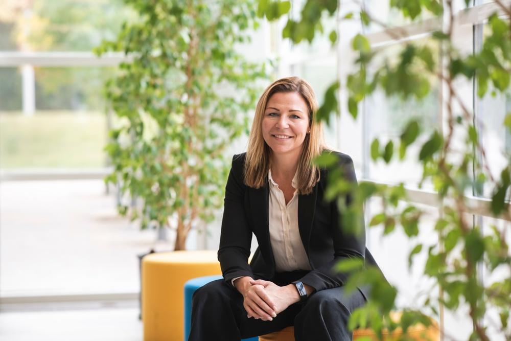 Sandra Sundbäck, vd på Paper Province.