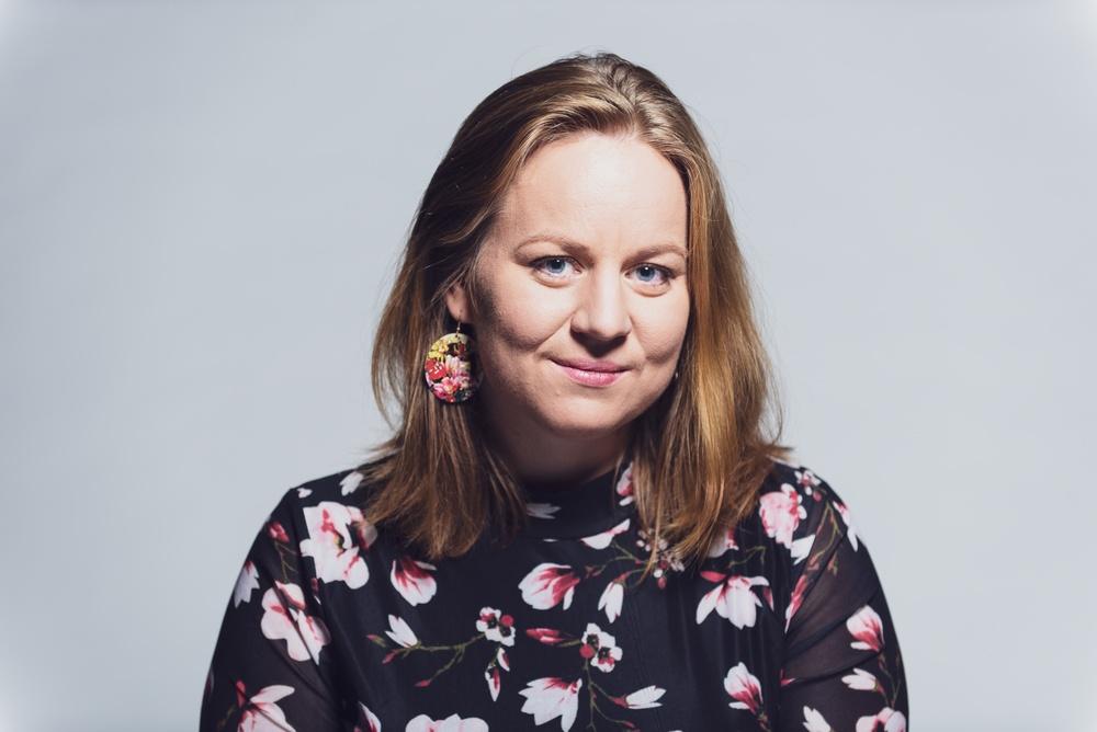Lina Teir, medverkar i I Tregålin på Berättarfestivalen 2020. Foto: Jonas Bergqvist.