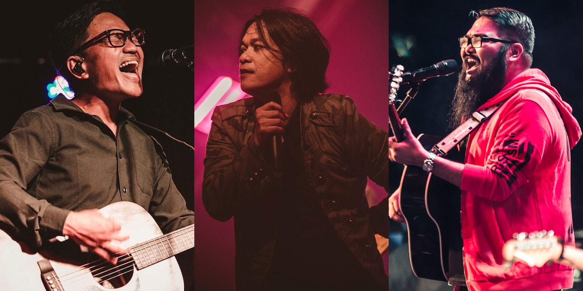 Ebe Dancel, Sandwich, I Belong to the Zoo, and more to share the stage and some burgers this August