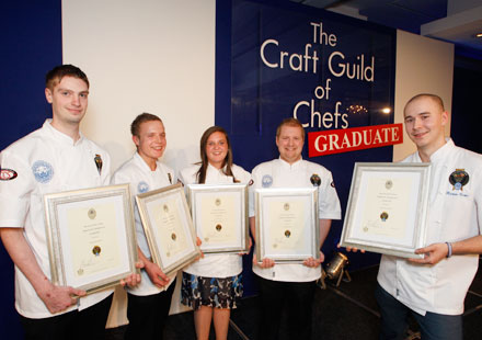 Craft Guild graduates 2012