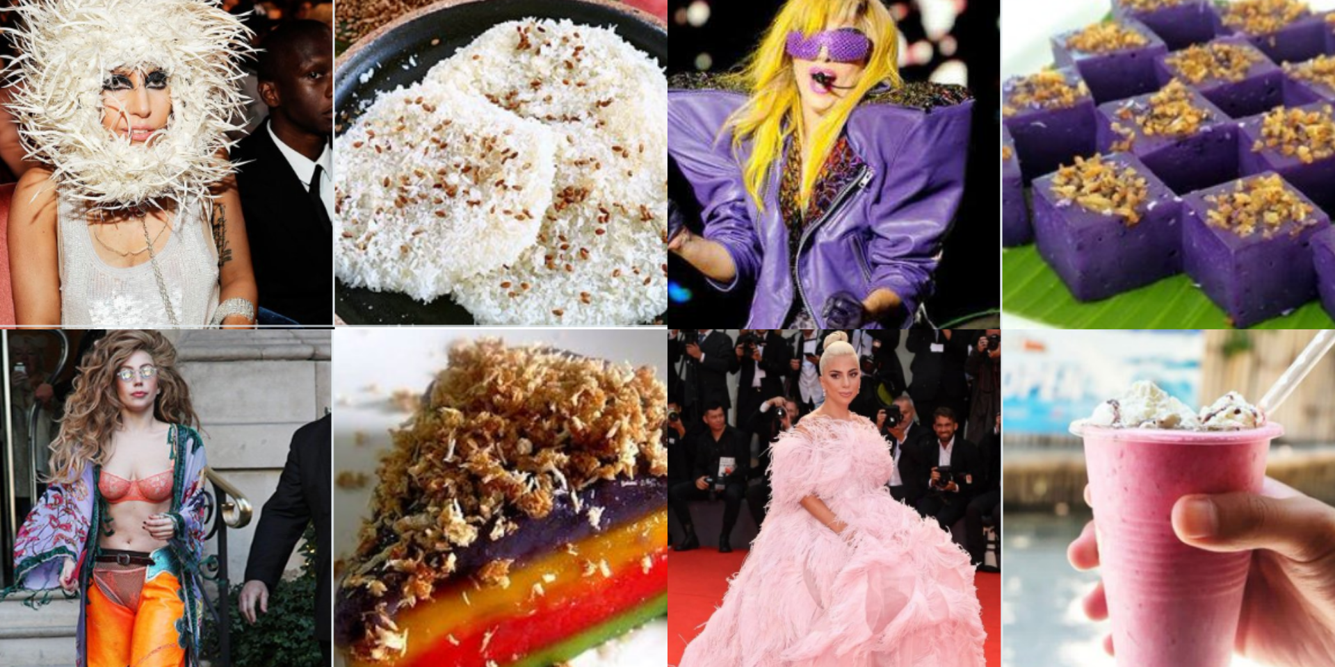 Check out Lady Gaga's outfits as Filipino delicacies and snacks