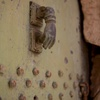 Tomb of Nahum, Courtyard, Door Knocker (al-Qosh, Iraq, 2012)