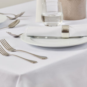 Occasions table linen Mitre Mid Res