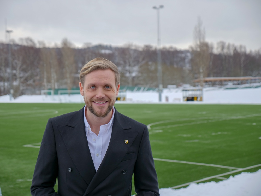 Marcus Jodin, klubbchef BK Häcken