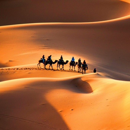 Fez to Marrakech ( Luxury desert camping experience )