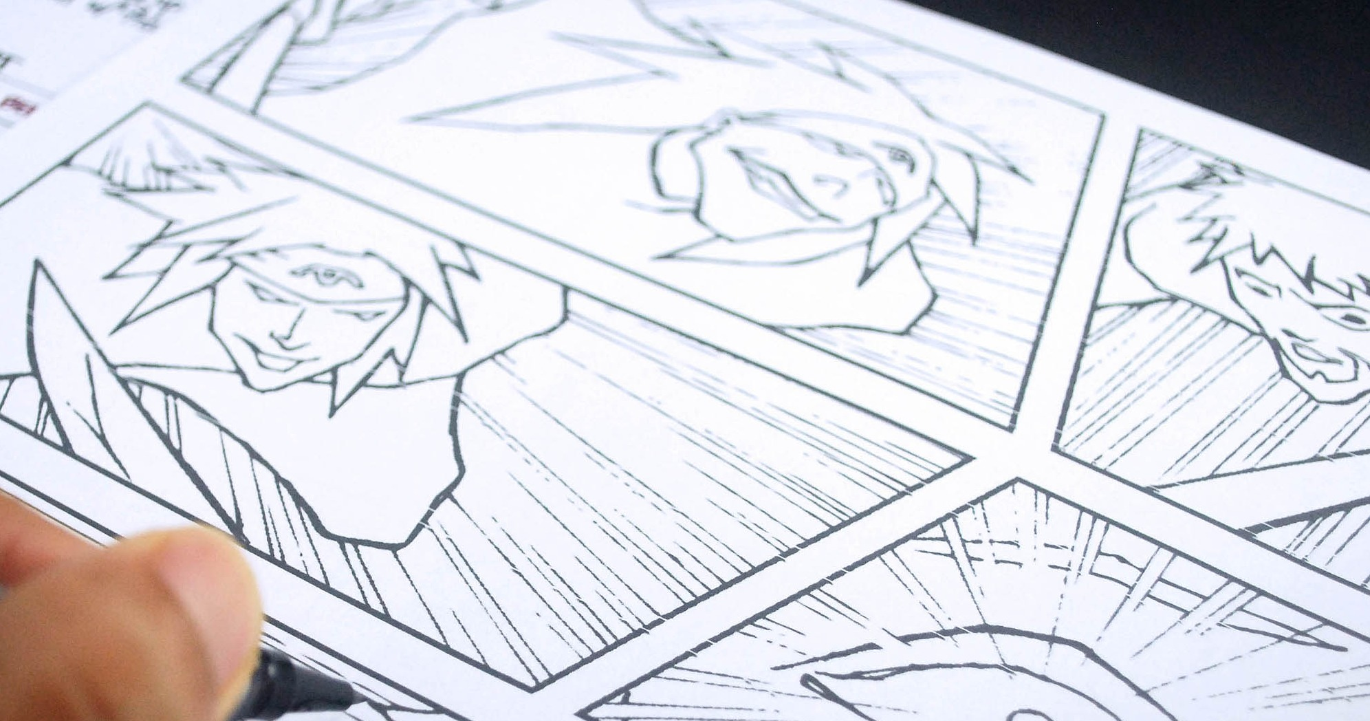 Manga 2 Creating Comic Book Panels And Drawing Characters