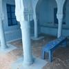 Courtyard 3, Slat Ribi Avraham Small Quarter, Djerba (Jerba, Jarbah, جربة), Tunisia 7/9/2016, Chrystie Sherman