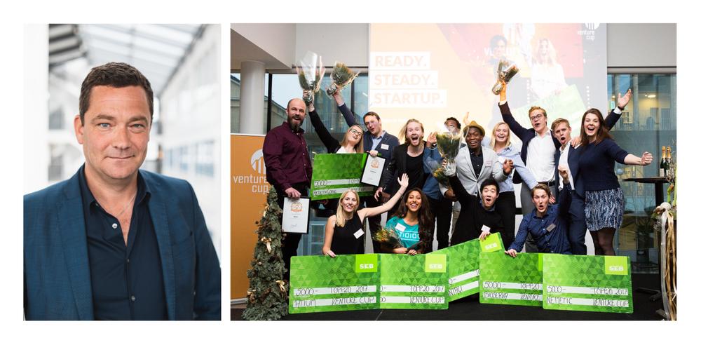 Peter Grönberg & de regionala vinnarna av TOPP20 i Väst år 2017
