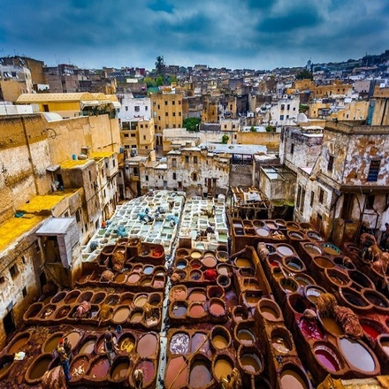 7 days Morocco Private Tour from Casablanca visiting Chefchaouen, Fes, Desert, Marrakech and more