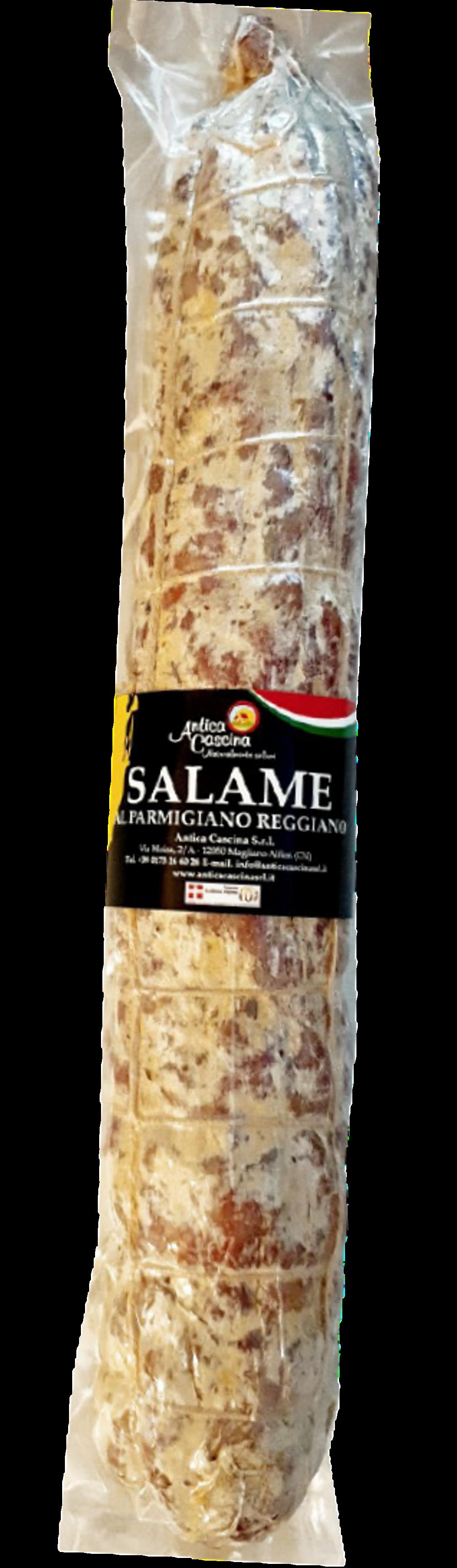 Gårdssalami smaksatt med Parmigiano Reggiano D.O.P