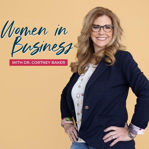Women in Business podcast logo