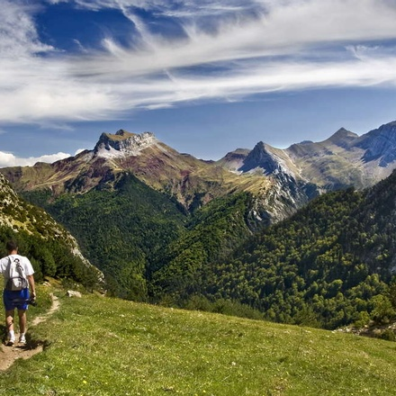 Walking in Andorra