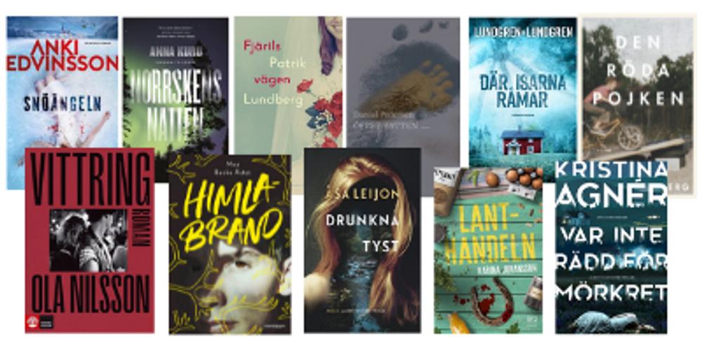 De nominerade titlarna till SV:s Författarpris 2021.