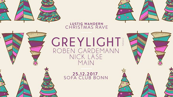 Lustig Wandern Christmas Rave At Sofa Bonn