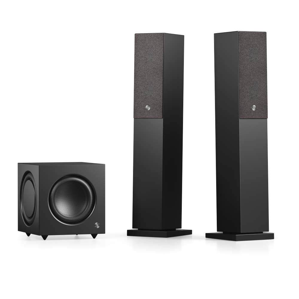 Audio Pro SW-10, black with A36