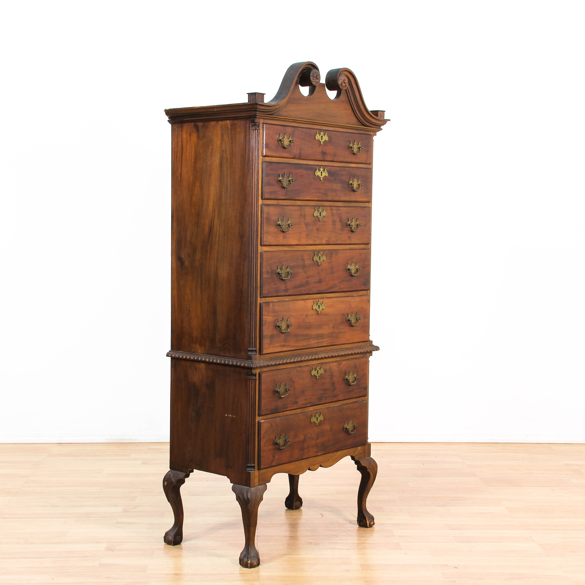 style tall dresser drawer drawers campaign mt chairish chest product national airy