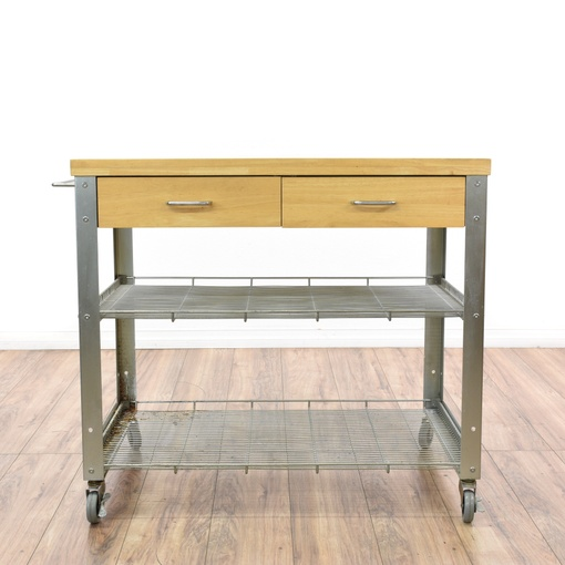 rolling stainless steel kitchen island cart loveseat