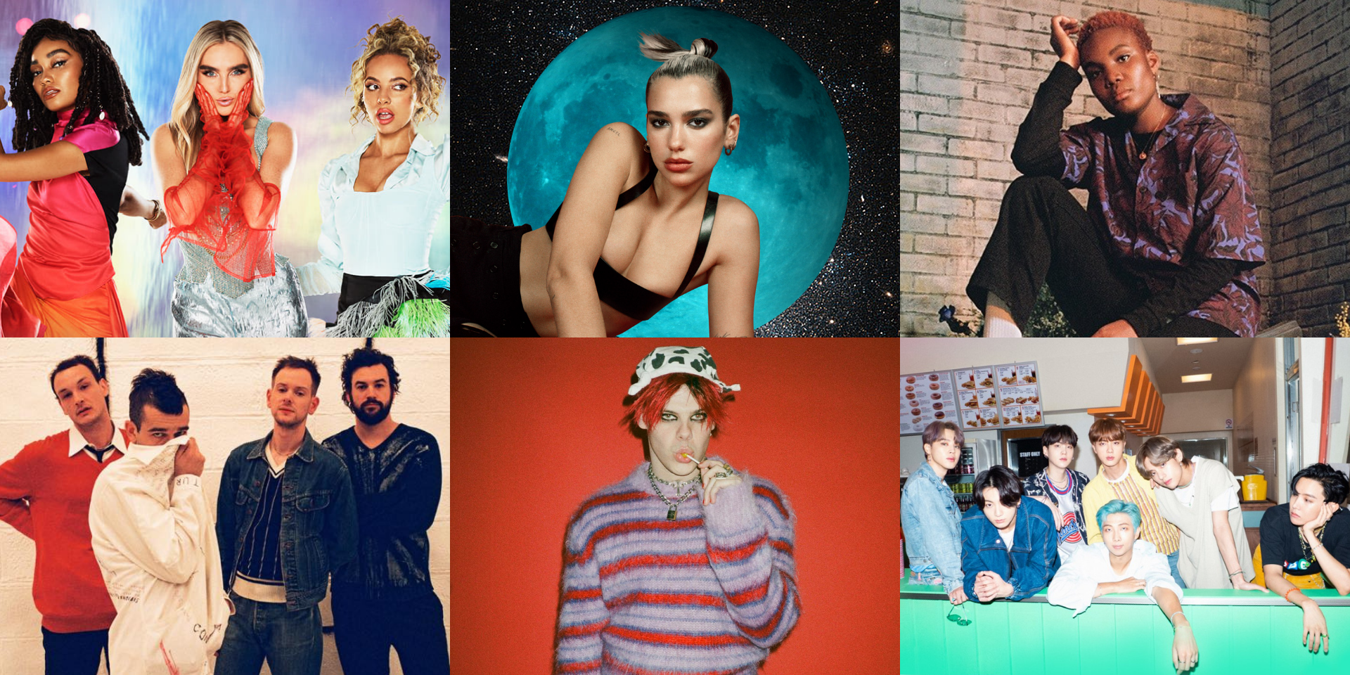 Here are the nominees of The BRIT Awards 2021 – Dua Lipa, Arlo Parks, The 1975, Little Mix, Yungblud, BTS, and more