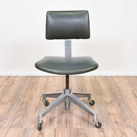 Industrial Metal Mid Century Modern Office Chair