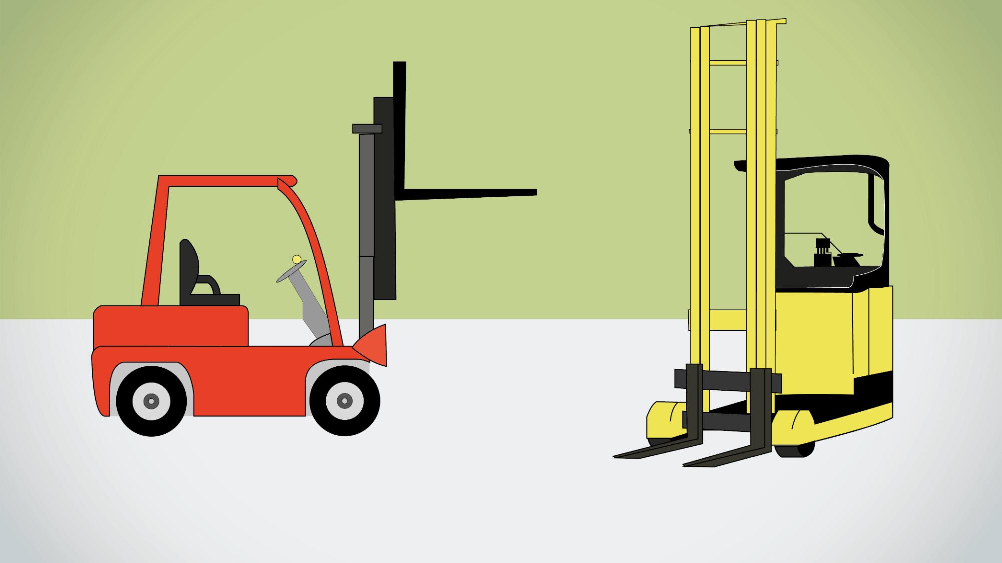 Représentation de la formation : Formation conduite en sécurité de chariots automoteurs