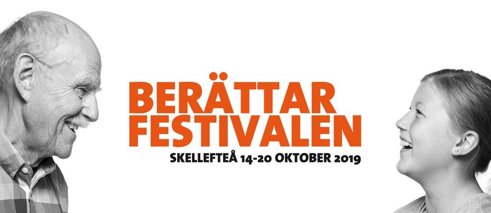 Profilbild för Berättarfestivalen 2019. Foto: Patrick Degerman.