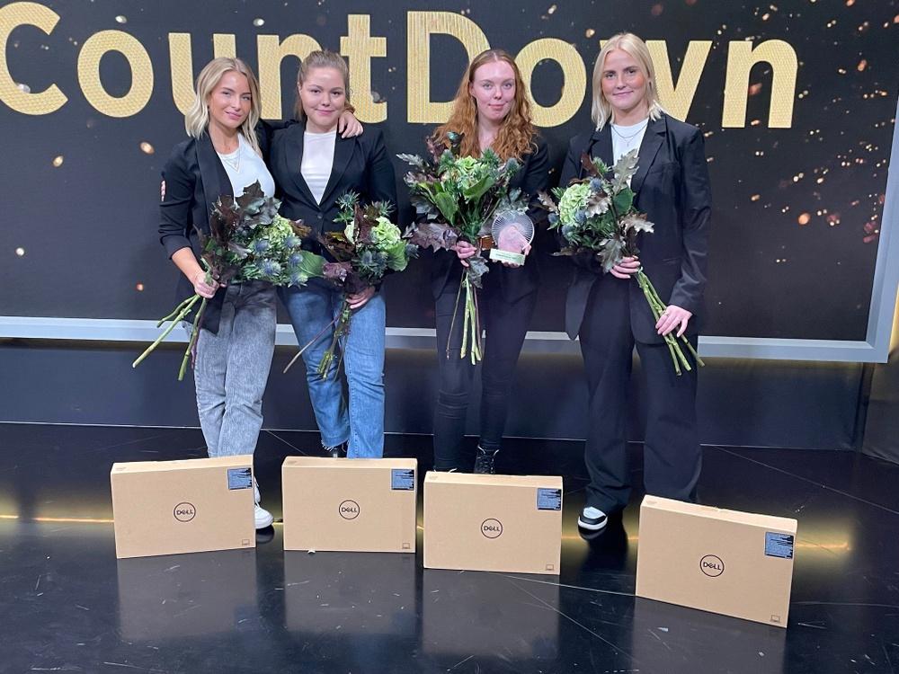 Ida Myrin, Elin Brevitz, Emilia Karlsson och Linn Ankarstad