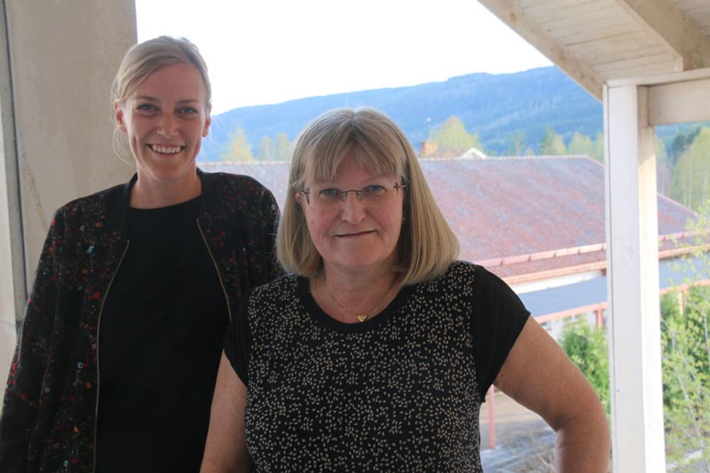 Mona Kjellberg från Juni Strategi och Torsby kommuns näringslivschef Eva Larsson