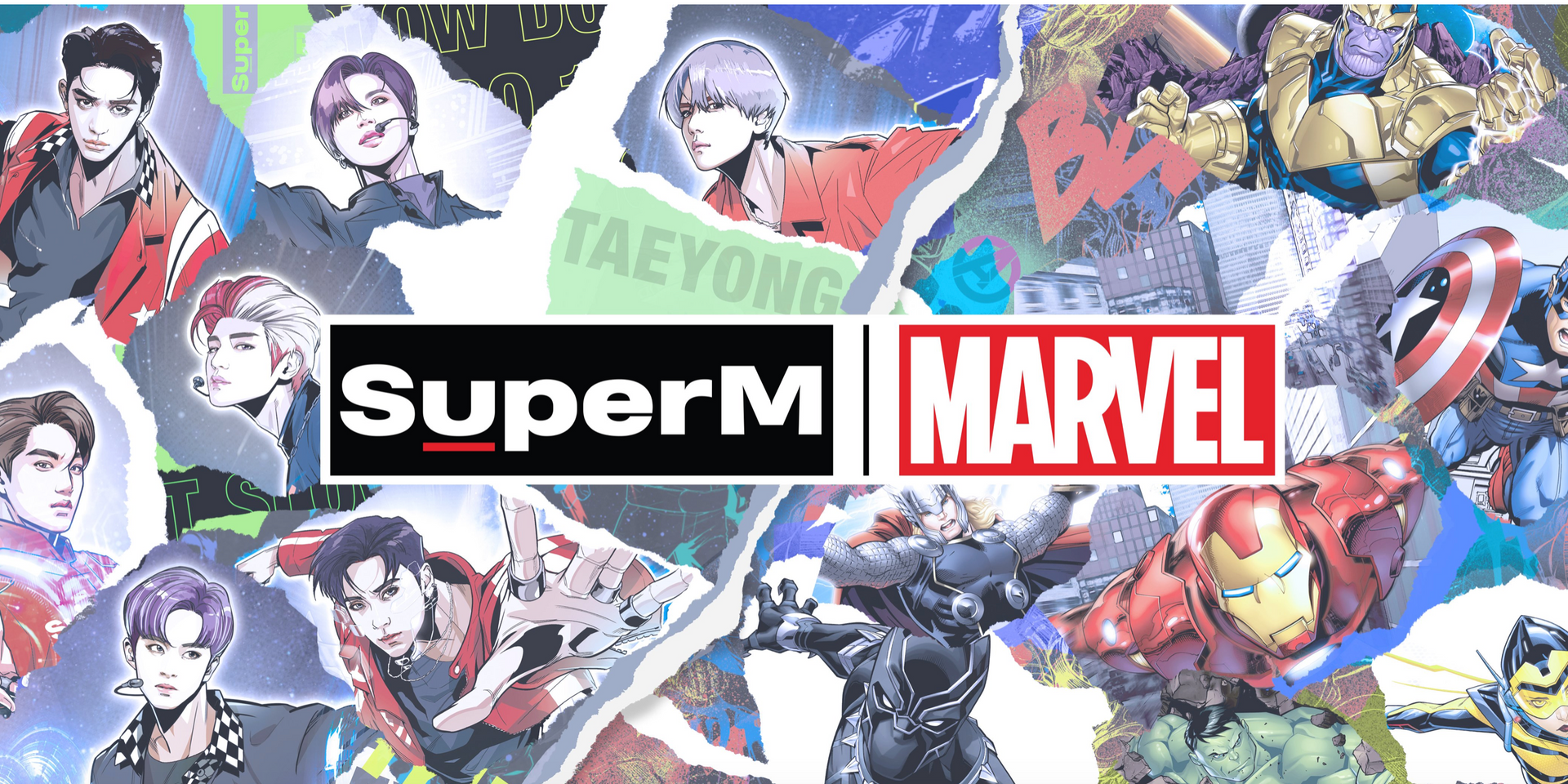 SuperM reveals Marvel collaboration, check out the limited edition merch drop