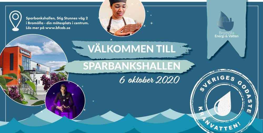 Den 6 oktober 8-13 hålls regionsfinalen i Sparbankshallen