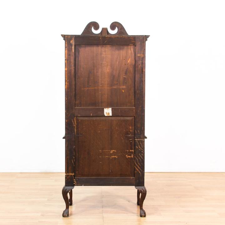 antique queen anne 7 drawer tall dresser loveseat vintage furniture los angeles. Black Bedroom Furniture Sets. Home Design Ideas