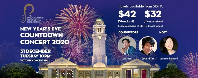 The Philharmonic Orchestra presents New Year's Eve Countdown Concert 2020